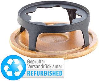rosenstein s hne fondue k setopf untersetzer und rechaud f r gusseisen fondue 24 cm. Black Bedroom Furniture Sets. Home Design Ideas