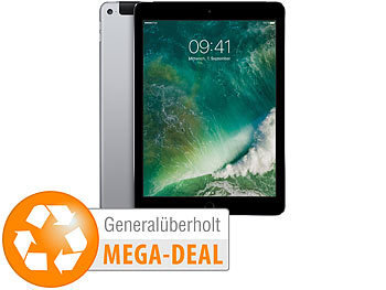 Apple iPad: Apple iPad Air 2 mit 64 GB, WiFi, LTE, space-grey (generalüberholt, 2. Wahl)