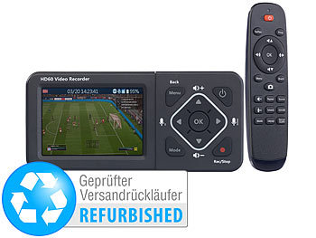 Digitale Videorekorder: auvisio HDMI-Video-Rekorder mit Farb-Display, Full HD (Versandrückläufer)