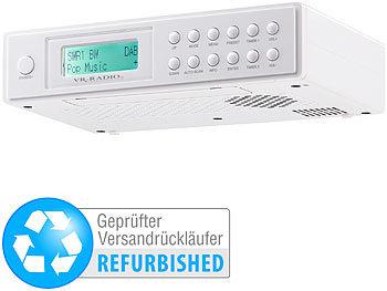 VR-Radio Küchen-Radio: Unterbau-Küchenradio mit DAB+/FM ...