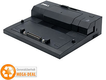 Laptop Docking Station: Dell Dockingstation E-Port PR03X/K07A, 1. Wahl (generalüberholt)