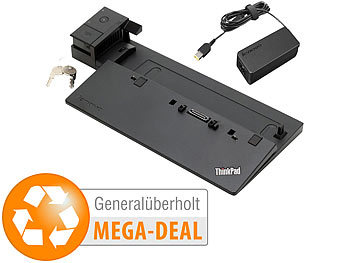 USB Docking Stations: Lenovo Docking Thinkpad Ultra Dock 40A2 inkl. 90-W-Netzteil (generalüberholt)