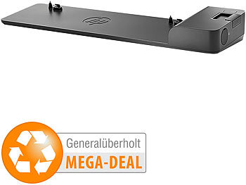 2013 Docking D9Y32AA, Ultra Slim, 65W-Netzteil (generalüberholt)