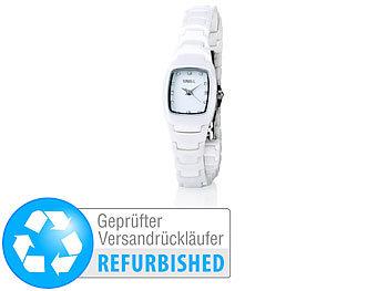 crell keramik armbanduhren damenuhr mit hochwertigem. Black Bedroom Furniture Sets. Home Design Ideas