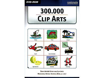 RONDOMEDIA 300.000 Clip Arts RONDOMEDIA