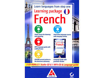 Apollo Learning Package French (Sprachkurs Englisch - Französisch) Apollo Sprachkurs (PC-Software)