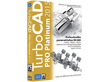 IMSI TurboCAD PRO Platinum 2015 IMSI CAD-Softwares (PC-Softwares)