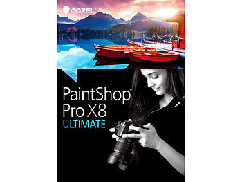 Corel PaintShop Pro X8 Ultimate Corel Bildbearbeitung (PC-Software)