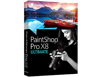 Corel PaintShop Pro X8 Ultimate Corel Bildbearbeitungen (PC-Softwares)