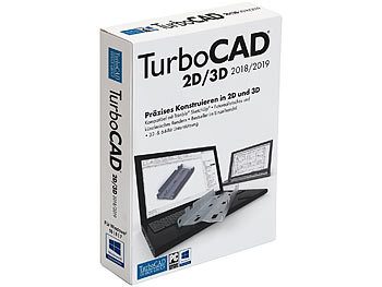 Computer-Aided-Design-Software: TurboCAD TurboCAD V2018/2019 2D/3D