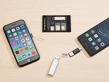 Laptop Mit Sim Karte.Pearl Sim Karten Adapter Sim Karten Organizer Mit Microsd Card
