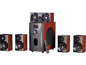 auvisio 5 1 soundsystem home theater surround sound. Black Bedroom Furniture Sets. Home Design Ideas