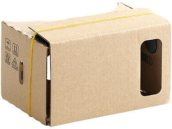 Cardboard Vr Brille Basteln : Pearl vr brille smartphone virtual reality brille vrb d