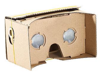 Cardboard vr brille : Pearl vr brille smartphone virtual reality brille vrb d