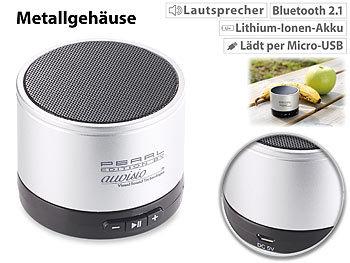 Auvisio Handy Lautsprecher Mobiler Aktiv Lautsprecher Mit Bluetooth