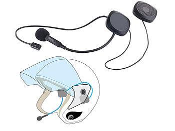 auvisio headset motorrad stereo headset mit bluetooth 4 1 freisprecher f r motorradhelme. Black Bedroom Furniture Sets. Home Design Ideas