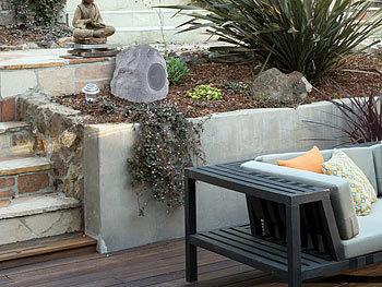 Auvisio Gartenlautsprecher Garten Und Outdoor Lautsprecher Im