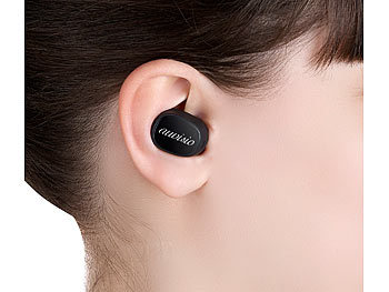 auvisio stereo headset bluetooth true wireless in ear. Black Bedroom Furniture Sets. Home Design Ideas