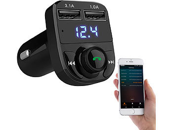 auvisio auto transmitter 3in1 kfz fm transmitter. Black Bedroom Furniture Sets. Home Design Ideas