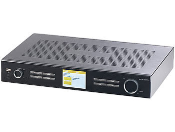 VR-Radio Digitaler WLAN-HiFi-Tuner mit Internetradio, DAB+, UKW, Streaming, MP3 VR-Radio HiFi-Tuner für Internetradio & DAB+, mit USB-Ladeports