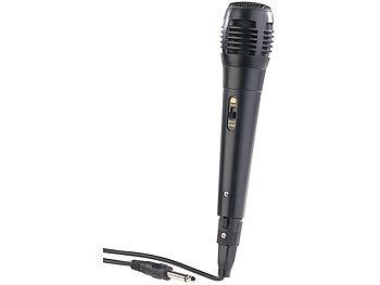 Dynamisches Mikrofon, XLR-Anschluss auf 6,3-mm-Klinkenstecker, 2,5 m / Mikrofon