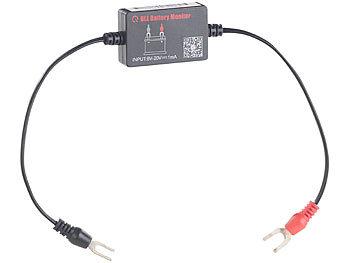Lescars Batteriewächter: Kfz Batterie Wächter mit Bluetooth