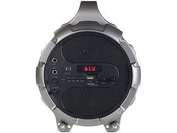 2.1-Akku-Soundblaster MSX-410 mit Bluetooth, FM, SD, USB, 50 Watt und 4.000 mAh 3