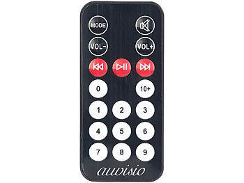 2.1-Akku-Soundblaster MSX-410 mit Bluetooth, FM, SD, USB, 50 Watt und 4.000 mAh 5