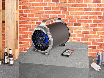 2.1-Akku-Soundblaster MSX-410 mit Bluetooth, FM, SD, USB, 50 Watt und 4.000 mAh 8