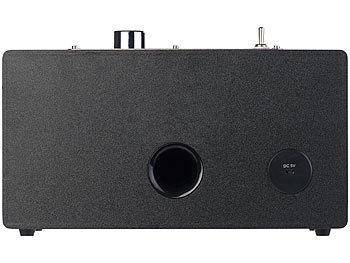 Mobiler Retro-Lautsprecher mit Bluetooth 4.1 und AUX-Eingang, 20 Watt 2