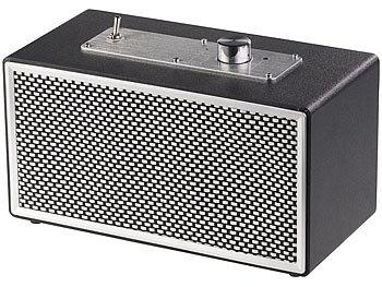 Mobiler Retro-Lautsprecher mit Bluetooth 4.1 und AUX-Eingang, 20 Watt 3