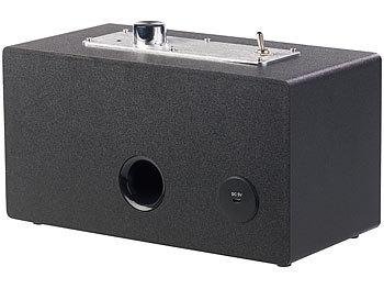 Mobiler Retro-Lautsprecher mit Bluetooth 4.1 und AUX-Eingang, 20 Watt 4