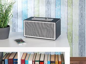 Mobiler Retro-Lautsprecher mit Bluetooth 4.1 und AUX-Eingang, 20 Watt 5