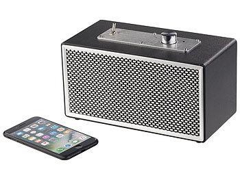 Mobiler Retro-Lautsprecher mit Bluetooth 4.1 und AUX-Eingang, 20 Watt 6