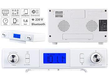 auvisio Küchenradio: Stereo-FM-Küchen-Unterbauradio mit ...