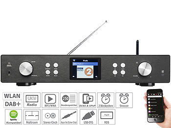 Tragbares Audio & Video Tragbare Digitale Mini Radio Receiver Tft Bluetooth Radio Wecker Schlaf Timer Musik Lautsprecher Unterstützung Rds Fm Dab Dab Mp3 Usb Unterhaltungselektronik