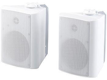 auvisio Outdoor Lautsprecher: Aktiv-Multiroom-Stereo-Außen ...