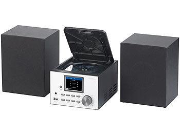CD auvisio Micro-Stereoanlage mit Webradio FM DAB+ Bluetooth 100 W USB