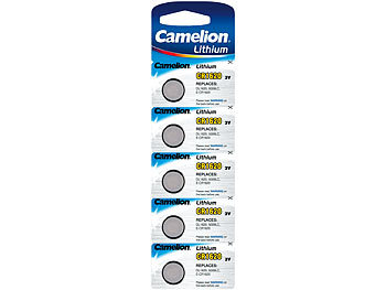 camelion lithium knopfzelle cr1620 90 mah 3 volt 5er pack. Black Bedroom Furniture Sets. Home Design Ideas