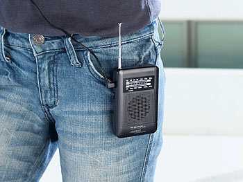 Mini Radio mit Batterie