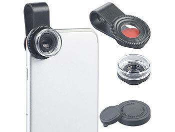 Somikon makrolinse mikroskop vorsatzlinse cvl für smartphones