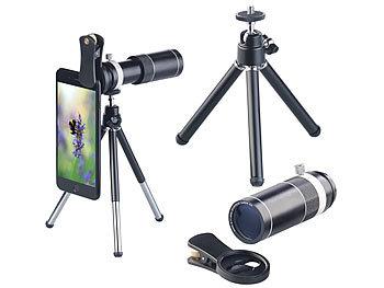 Somikon smartphone vorsatzlinsen vorsatz tele objektiv für