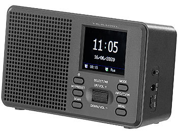 DAB-Radio Batterie, Bluetooth