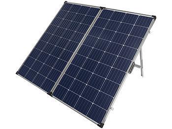 Faltbares mobiles Solar Panel mit monokristallinen Zellen, 260 Watt / Solarpanel