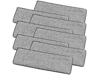 4er-Set Mikrofaser-Wischpads für Boden-Wischer WM-04 / Bodenwischer
