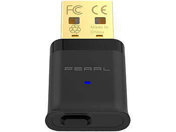 PEARL USB-Audio-Transmitter mit Bluetooth 5 und aptX HD, 20 m