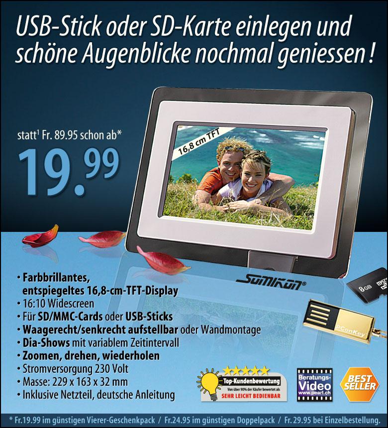 Sondermail 2011-44 # Digitaler Bilderrahmen