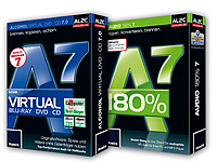 Copy-Suite (Alcohol<br />Virtual DVD + CD 7 &amp; Audio 180% ...
