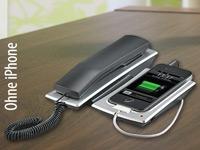 Callstel Phone-St&auml;nder<br />mit Telefonh&ouml;rer f&uuml;r iPhone 3...