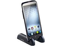 Callstel Kompakter<br />Doppel-St&auml;nder f&uuml;r Smartphone &amp; T...